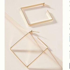 Jennifer Zeuner Jewelry Salma Hoop Earrings